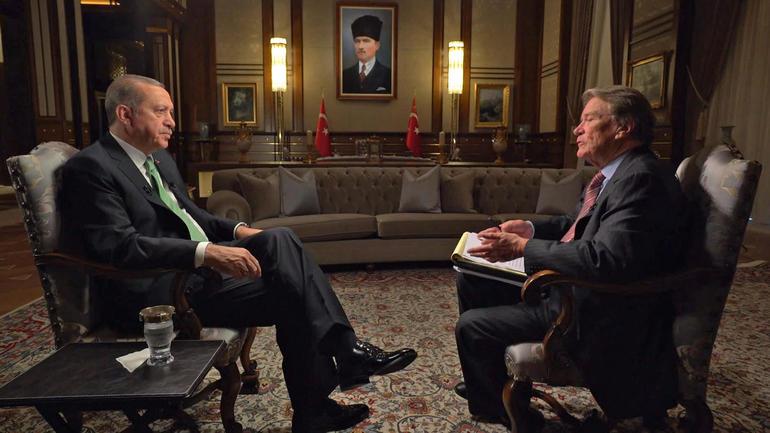 Эрдоган поведал освоем разочаровании политикой США