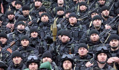 Спецназ Кадырова бросили в Сирию (ВИДЕО)