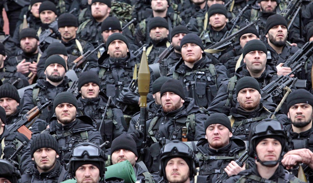 Чеченские войска специального назначения