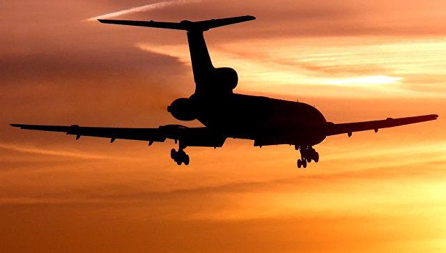 Самолет рухнул в Черное море