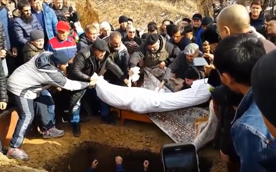 Погребение Гейдара Джемаля
