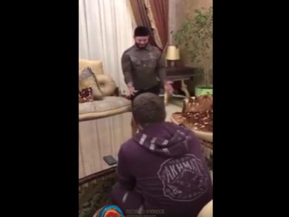 Как Кадыров и Галустян репетировали пародию на главу Чечни (ВИДЕО)