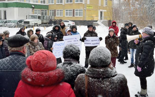 Намитинге вПерми собирали подписи против возведения мечети