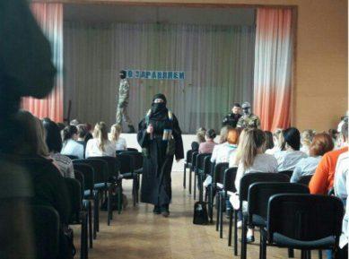 В Ленинградской области «шахидка» вызвала переполох