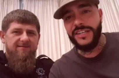 Кадыров снял последнее видео Тимати