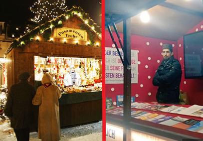 Псевдомусульмане устроили даават на Рождественской ярмарке – что с ними сделали?