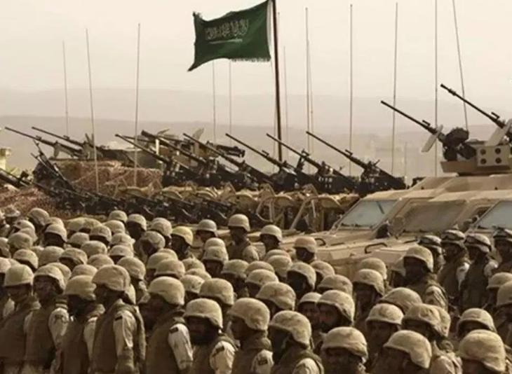 Саудовские солдаты
