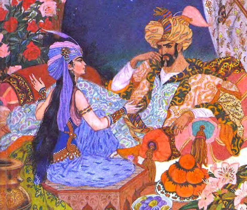 Эротические мотивы в литературе мусульман