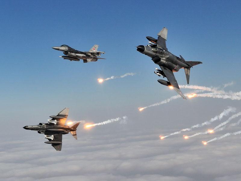 ВКСРФ иВВС Турции проводят общую операцию противИГ