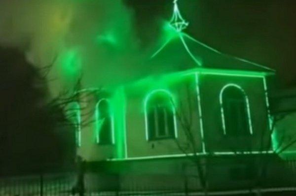 ВИнгушетии схвачен поджигатель мечетей