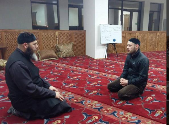 Муфтий Салах Межиев и новый русский мусульманин Евгений Нежевых