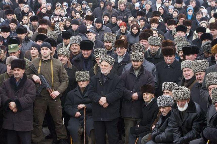 Чечня. Народный сход