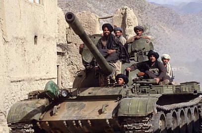СМИ: Русские специалисты чинят танки «Талибана»