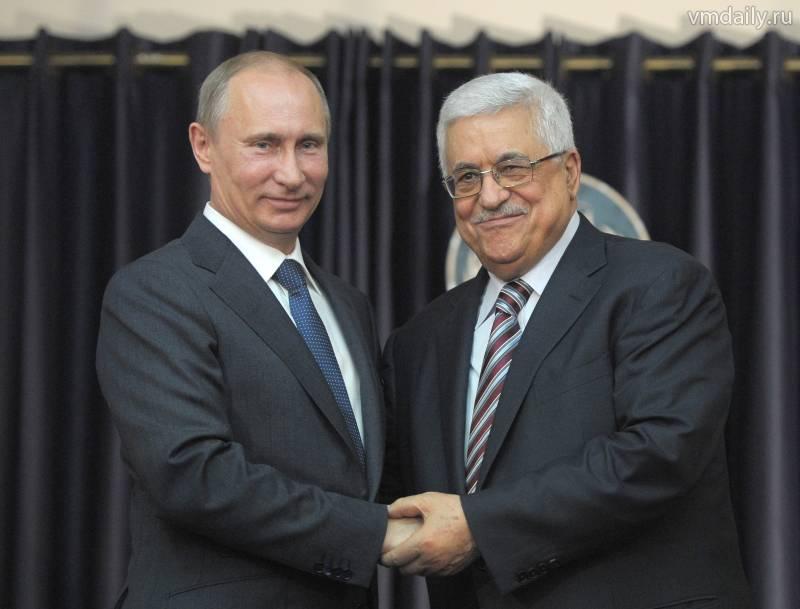 Путин и Аббас