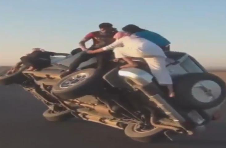 Сумасшедшая выходка саудовцев вызвала скандал (ВИДЕО)