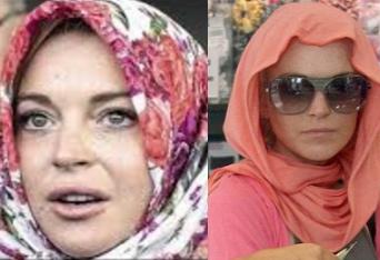 Линдси Лохан все-таки приняла ислам?