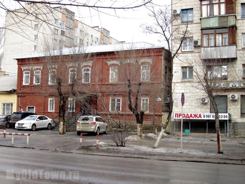 Волгоград. Дом 20 по ул. Огарева