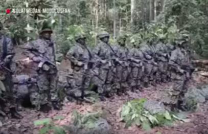 Бойцы спецназа совершили особо редкий мусульманский обряд (ВИДЕО)