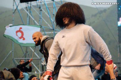 Бойца MMA Абукара Яндиева приняли на высшем уровне