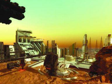 Шейхи решили построить поселение на Марсе