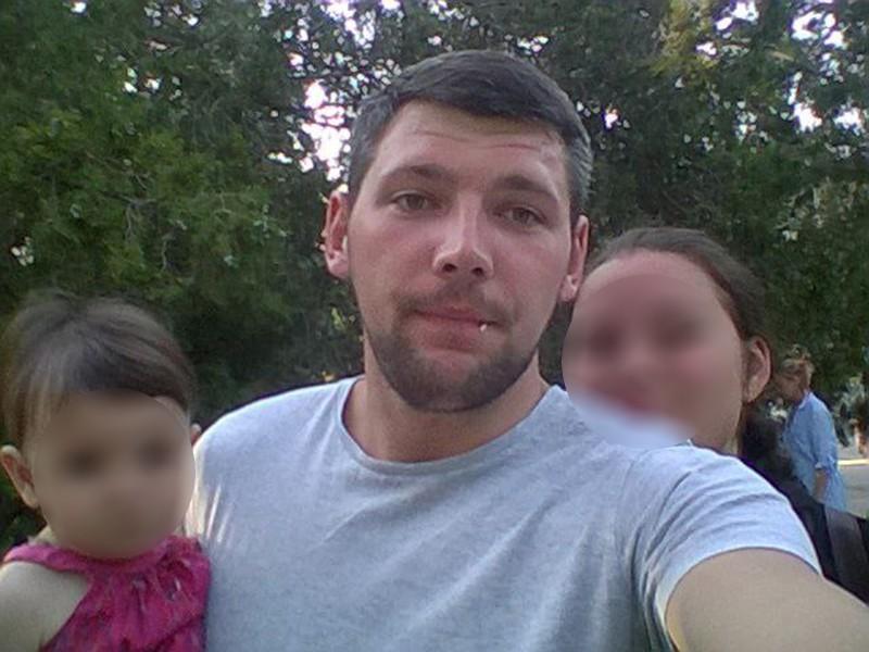 Леонид Оводов с семьей