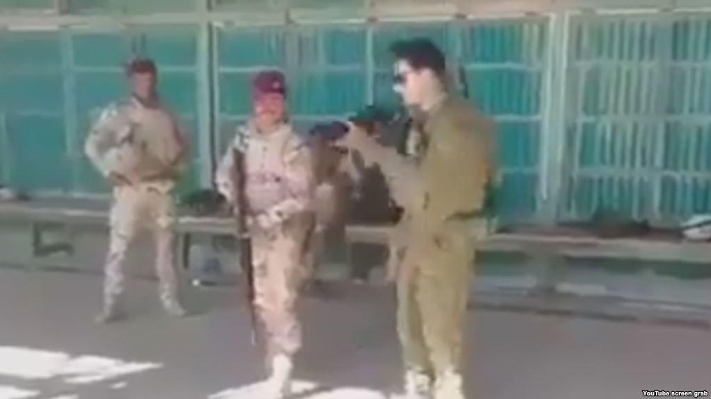 Солдаты выяснили уровень подготовки друг друга