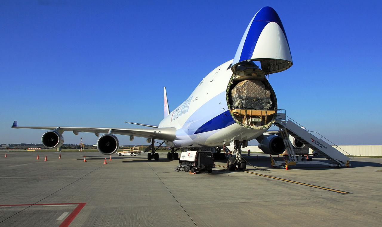 Возможность быстрой доставки груза посредством авиаперевозки