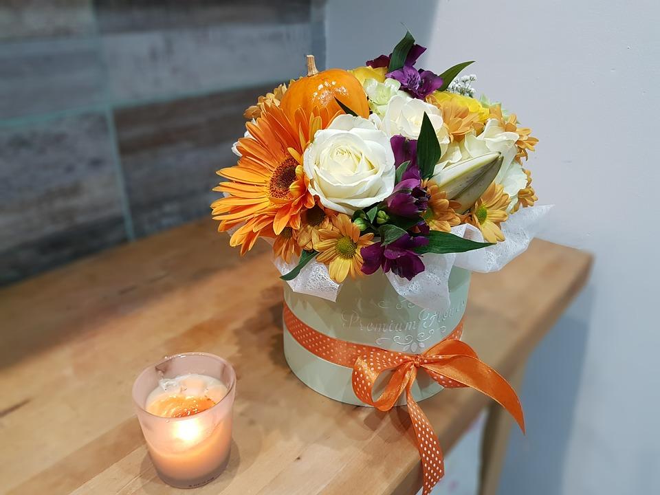 Цветы в коробке: отличная альтернатива традиционному букету