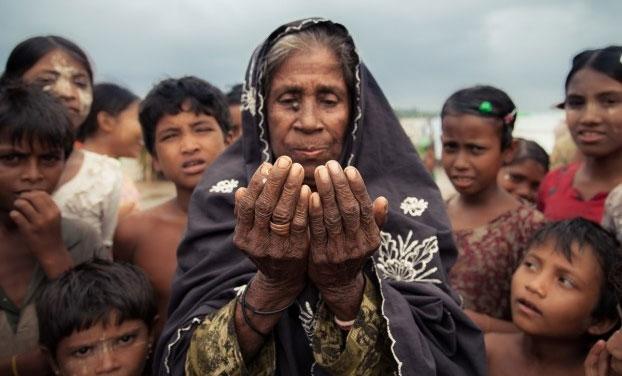 Мусульмане-рохинджа