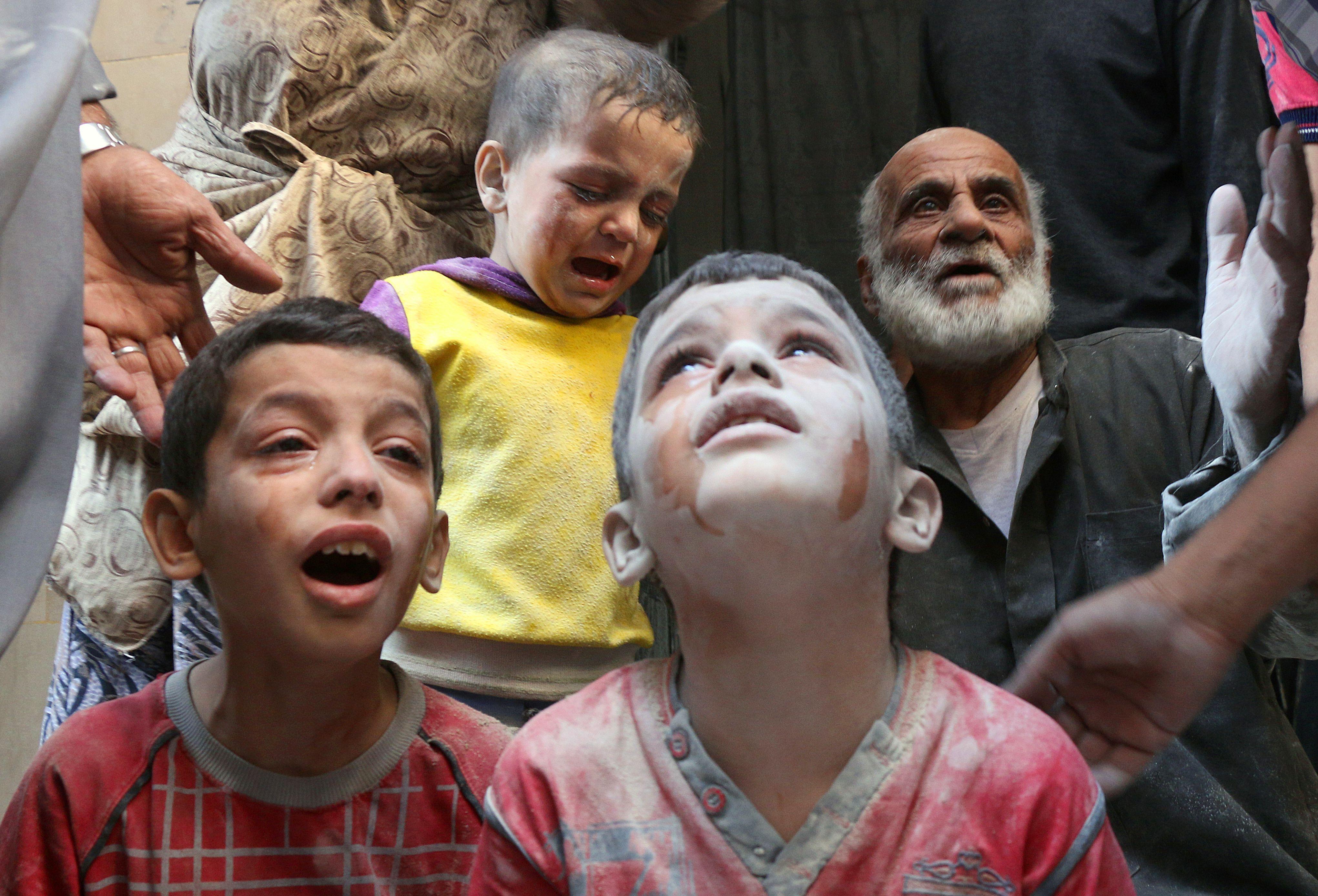 Россия спешит на помощь детям Алеппо