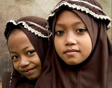 Школьницы в хиджабах мощно «отметили» День Валентина