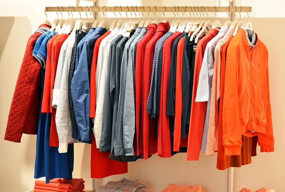 Большое разнообразие одежды в онлайн-режиме