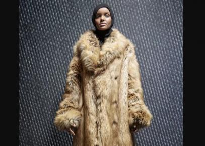 Красавица в хиджабе произвела фурор на престижном подиуме