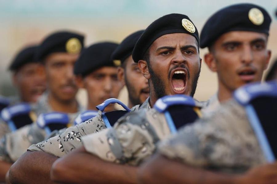 Полицейские в Саудовской Аравии