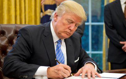 СМИ узнали об изменениях в исламофобском указе Трампа