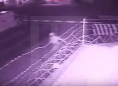 Появились кадры нападения на часть Росгвардии в Чечне (ВИДЕО)