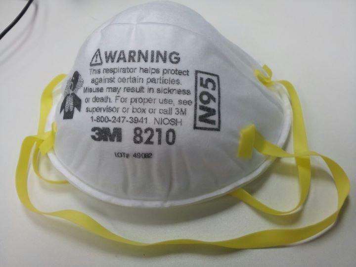 Надежная защита органов дыхания с помощью респираторов 3М