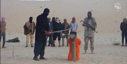 Боевики ИГИЛ казнили колдунов Синая