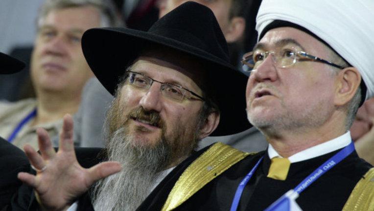 Берл Лазар и Равиль Гайнутдин