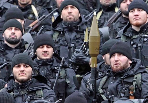 В Чечне отбили атаку боевиков на часть Росгвардии