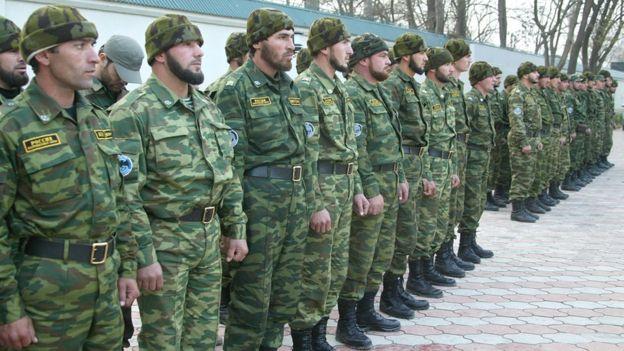 Чеченский спецназ готовят к выполнению задач государственной важности