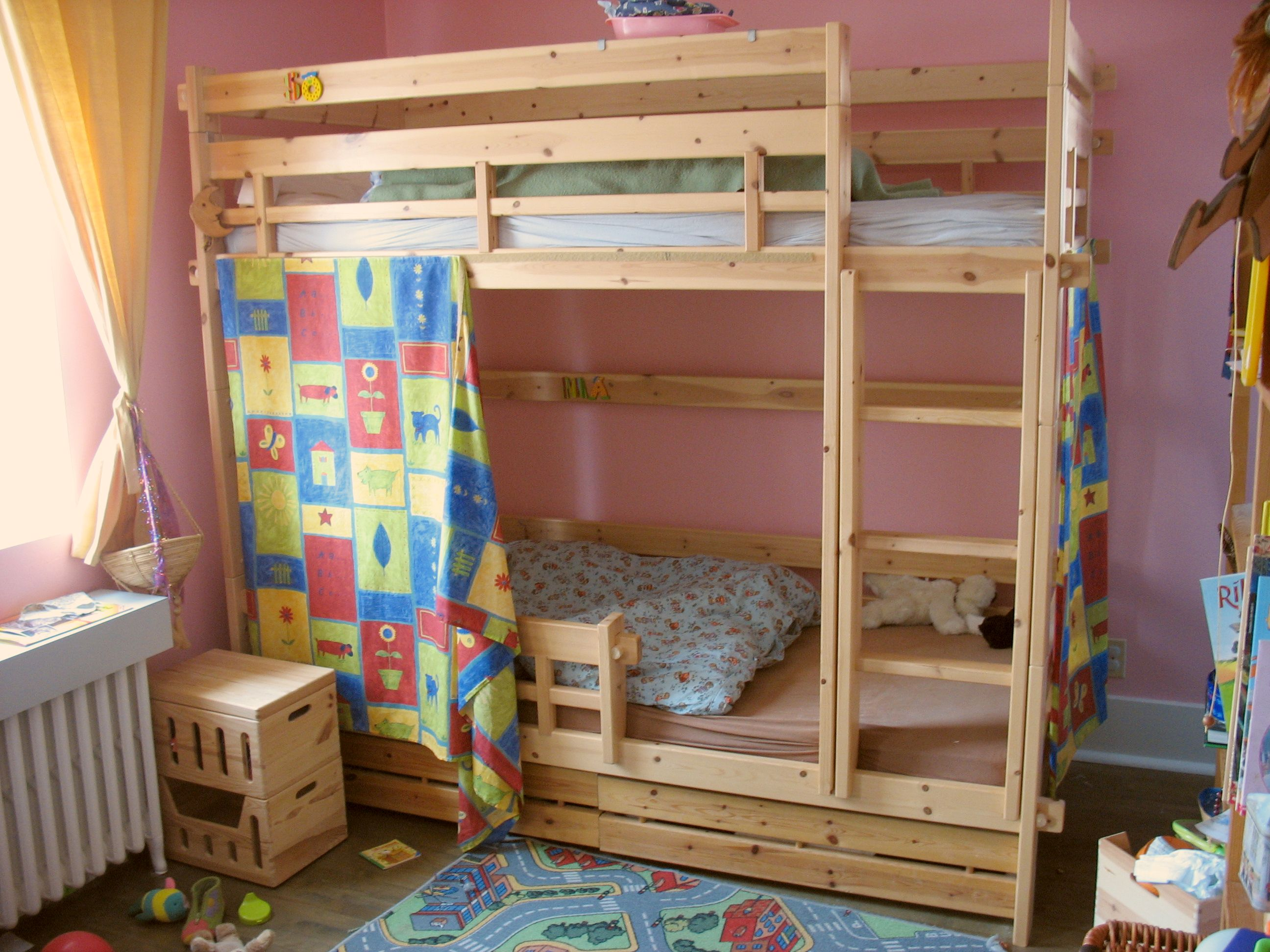 Как правильно выбрать качественную двухъярусную кровать?