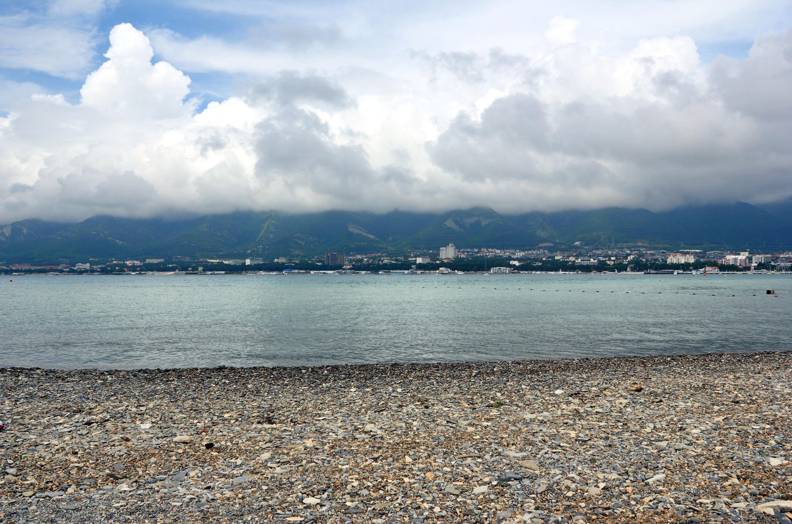 Черное море геленджик пляж фото