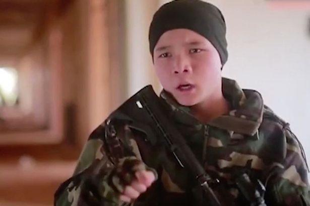 Юный уроженец Китая клянется атаковать свою страну