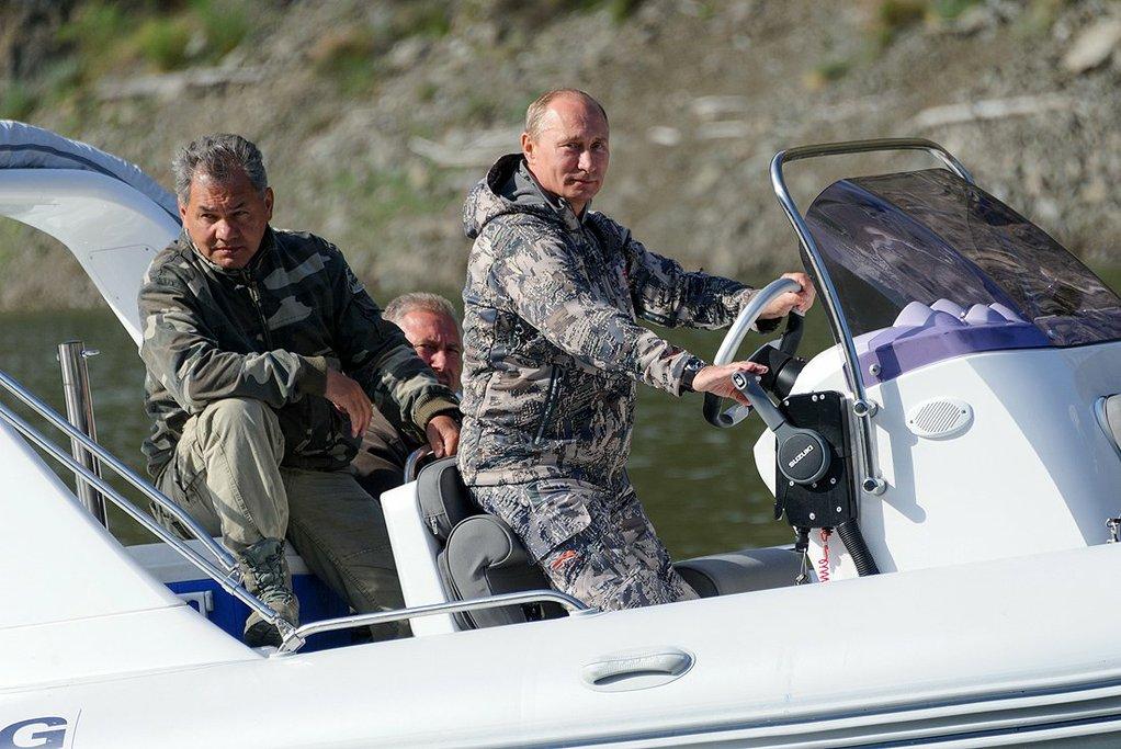 Путин отдыхал в Туве и Хакассии