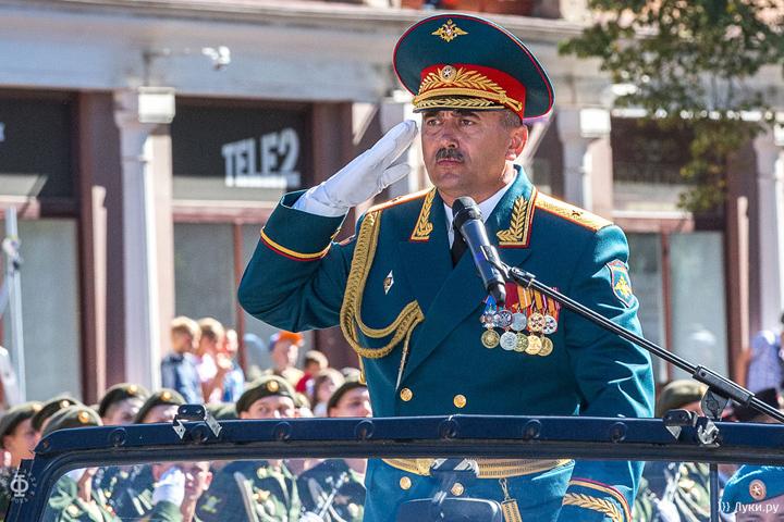Генерал-майор Петр Милюхин