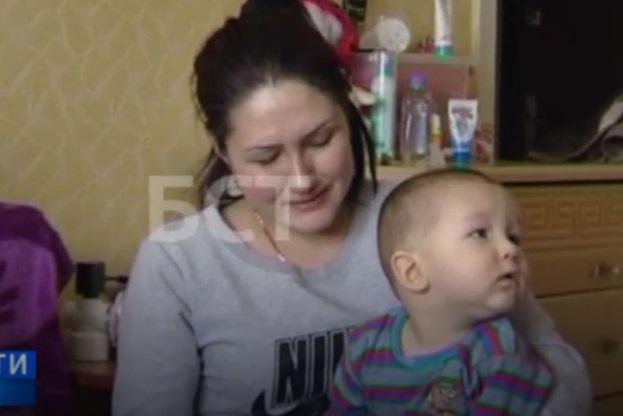Следователи заинтересовались няней, избивавшей малыша Махмудова (ВИДЕО)