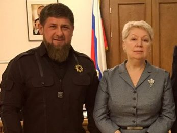 Кадыров встретился с министром Васильевой, выступившей против хиджаба
