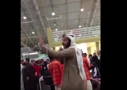 Песни и пляски в Саудовской Аравии обернулись рукоприкладством (ВИДЕО)