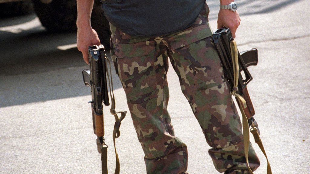 Вгорах Чечни впроцессе перестрелки убиты два боевика